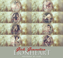 Lion Heart Cover Pack 2-150903 by TaylorZoe