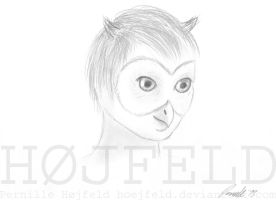 Oliver the Owl by Hoejfeld
