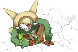 Chesnaught by Servaline