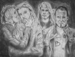 Apocalyptica Drawing by Qtfiddler