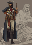 Captain Leandre Barrineau by Lanaluu