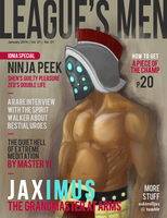 League's Men - Jax by InnocenceEvil