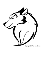 Wolf Logo by JYC