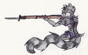 WWII Rifle Pinup: Arisaka Type 99 by SimonovFox
