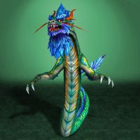 SMITE Ao Kuang by ArmachamCorp