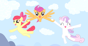 Flight to the finish by Fluttershy626