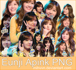 Pack PNG - EunJi (Apink) by MiHVVN