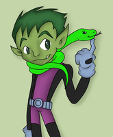 Beast Boy_8 by BeastGreen