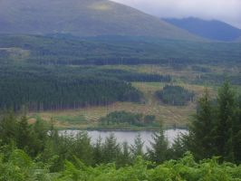 Scotland Scenery by TanzieB