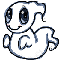 Happy Little Ghost by GNGTNT105