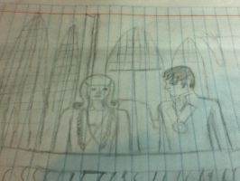 Barnabas Collins and Victoria Winter by Marilovett