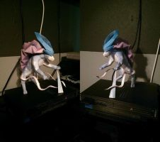 Papercraft Suicune by Jessguy240