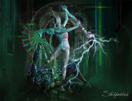 CyberAngel by strigoides