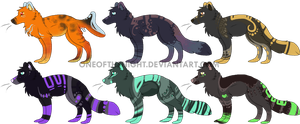 Canine Adopts by OneOfTheNight