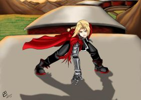 Picking a Fight - Edward Elric by Ellifayne