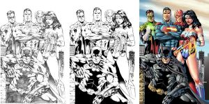 JLA image walktrough by Dany-Morales