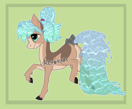 Waterfaller adopt 1# (AUCTION) (OPEN) by Reamina
