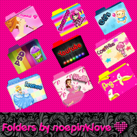 folders by noepinklove by noepinklove