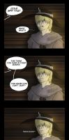 Dragon  Age Comic - Spit that. by YukiSamui