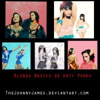 Pack Blends Katy Perry by thejohnnyjames