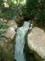 waterfall by poisson-stock