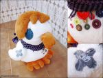 Duck Plushie by happip