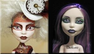 Steampunk Before and After by KrisKreations