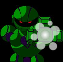 Vectorman animation by TheWax