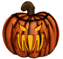 Carved Pumpkin by charmdemon