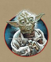 Star Wars - Master Yoda (2014) by scotty309
