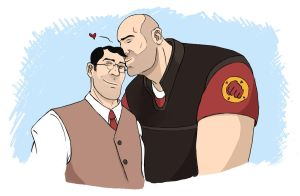 TF2: I love you, Doctor by Bielek