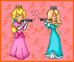 clarinet duet by ninpeachlover