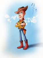 Toy Story-Woody by Nippy13