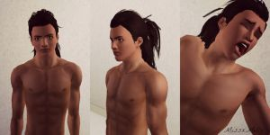 Connor Kenway- Sims 3 by missxmello
