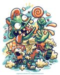 Mommy!!! My Candy is Stolen by Zombie by anggatantama