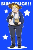 Blue Police by CATGIRL0926