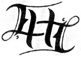 Ambigram - ELLIE by bigforrap