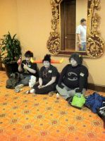 Anime Crossroads 2013 - Karkat, Sollux and Tavros by GoodDokCosplay