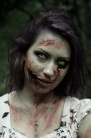 Zombie girl 2 by Agcooper73