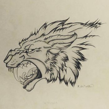 Sabre Tooth Tiger by heatwill