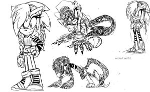 Maskerin sketches by Blinded-Djinn