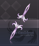 The Cauldron .:. Double Sided Pai Sword Stage 1 by Dea-89