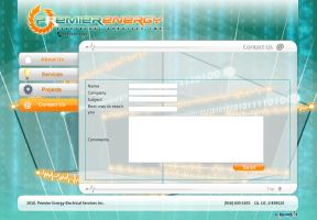 Premier Energy Inc Site by imaGeac