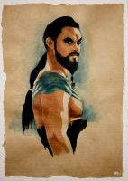 Khal Drogo - Game of thrones by AMIEL-kevin