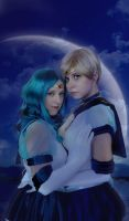 Neptune and Uranus by Angelicacosplay