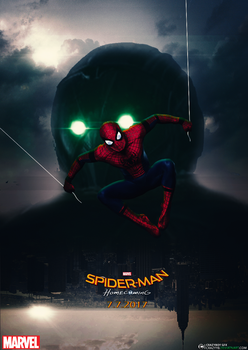 Spider-Man Homecoming - fanart poster by CrazyyB