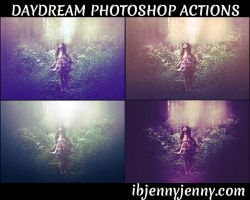 Daydream Photoshop Actions by ibjennyjenny