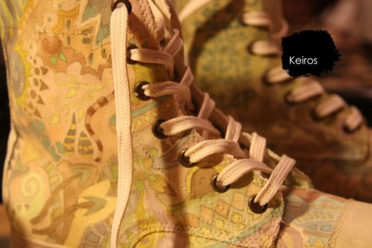 Custom Shoes by Keiros by KeirosShoeArt