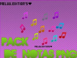 Notas Musicales Png by MeluuEditions