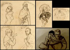 Sketches of Thrones by poly-m